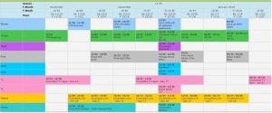 promotional calendar